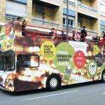 Autobus Vinilado. Descapotable