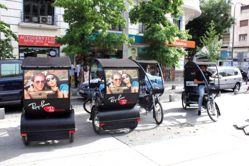 Triciclos Rickshaws